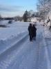 Tur i vakkert vintervær